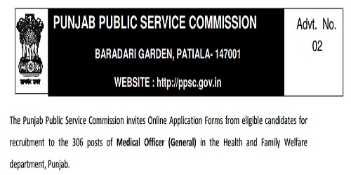 PPSC Punjab Recruitment 2018 Apply Online