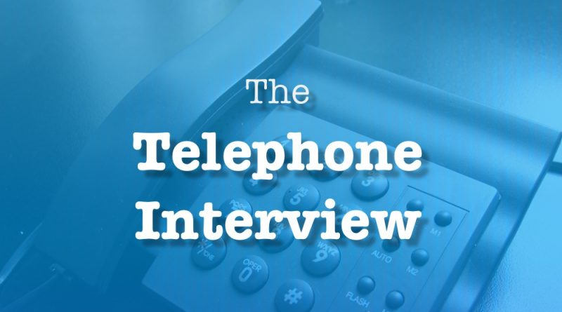 Interview-Telephone