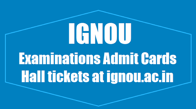 IGNOU-Admit-Card