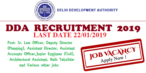 DDA-Recruitment-2019