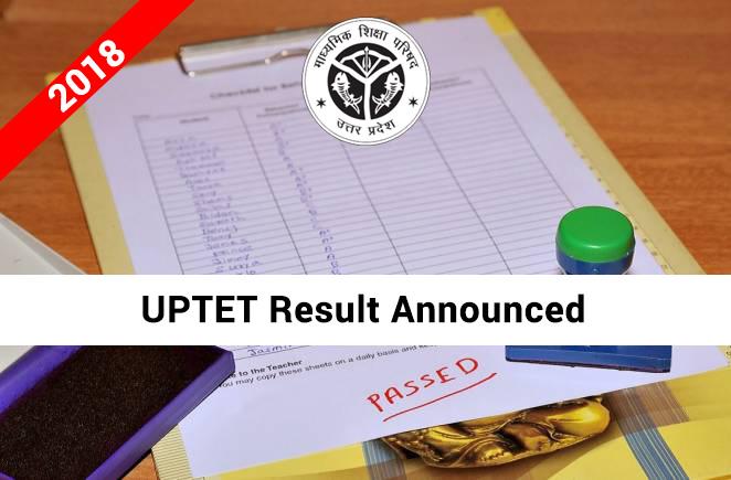 UPTET-2018-Result