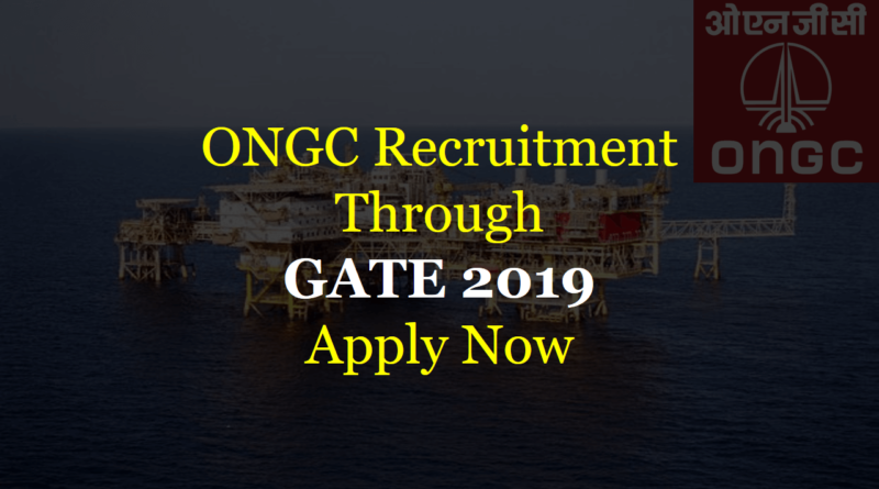 ONGC-Recruitment-through-GATE